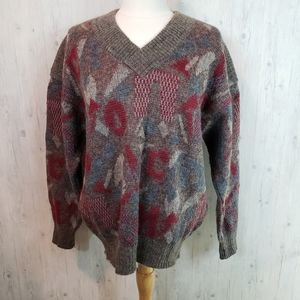 Bogner Women's V Neck Mohair Sweate…